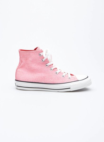 Converse FLUORESCENT PINK SNEAKERS - NEW