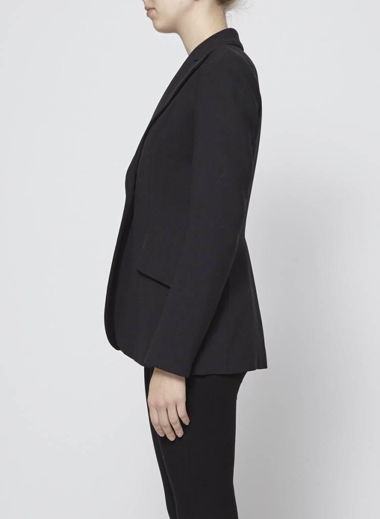 Philippe Dubuc Veston noir fait de laine
