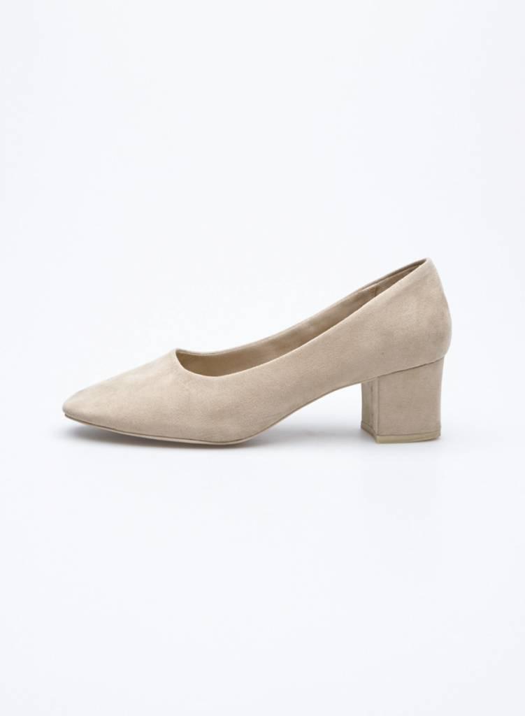 Oak + Fort Chaussures beige à talon