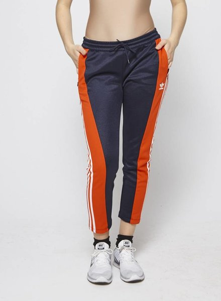Adidas NAVY SPORT TROUSERS WITH RED AND WHITE STRIPES