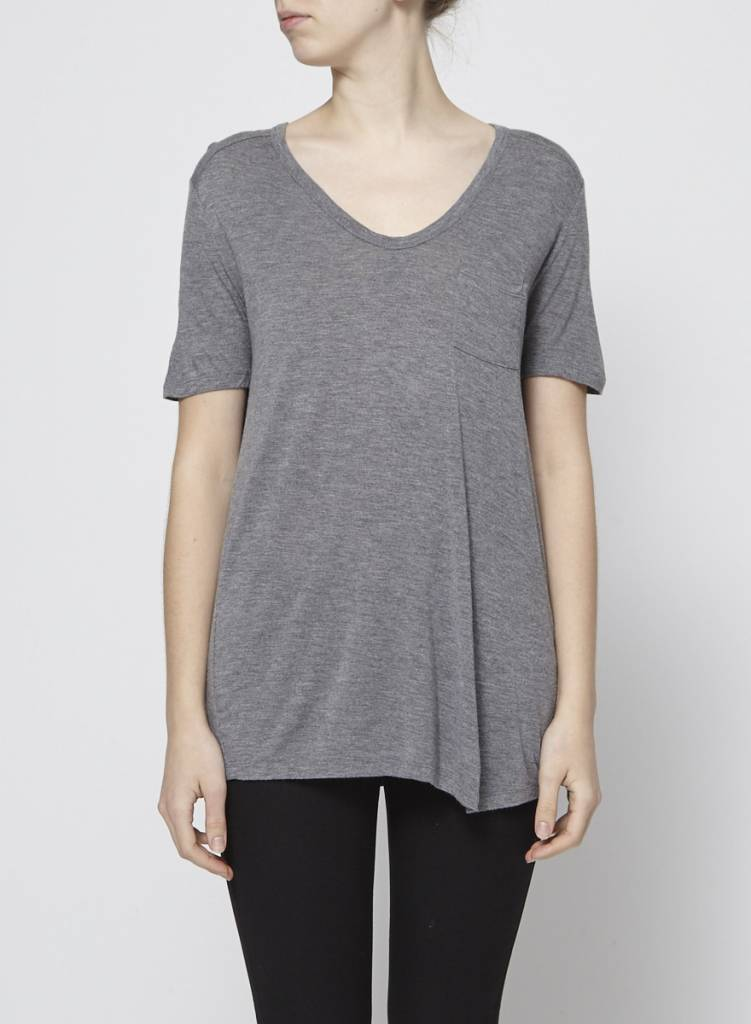 T by Alexander Wang T-shirt gris
