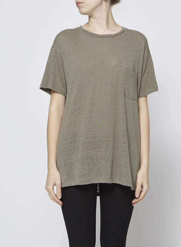 Rails T-shirt ample kaki