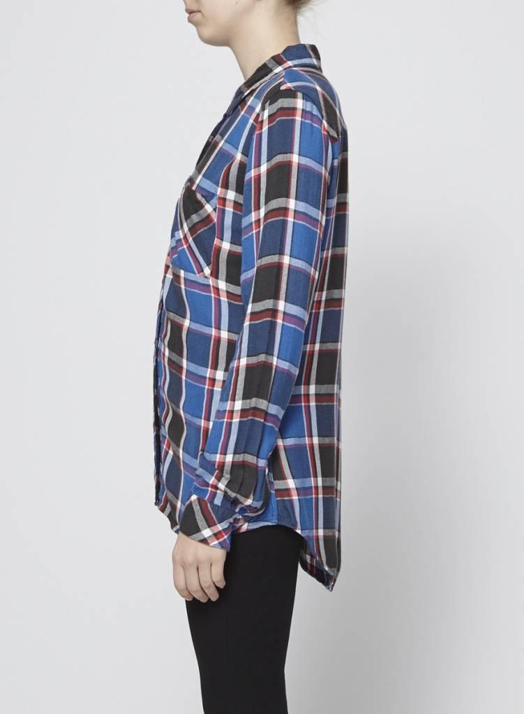 Rails Chemise à carreaux rouge, bleu et noir - RAILS - PETIT