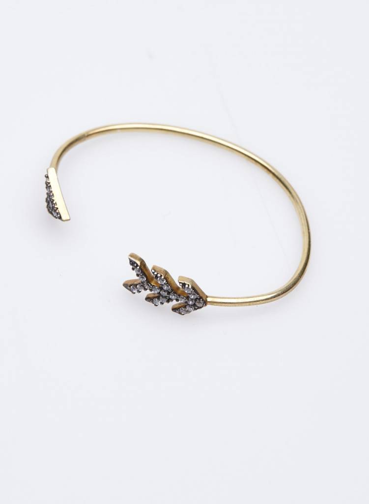 The Right Hand Gal Bracelet doré avec flèches