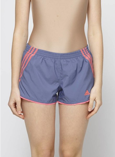 Adidas BLUE AND NEON PINK SPORT SHORTS