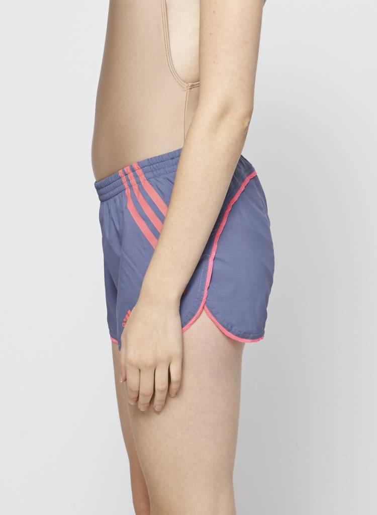 Adidas Short de sport bleu et rose