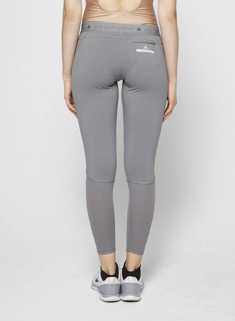 Stella McCartney pour Adidas Leggings de sport gris