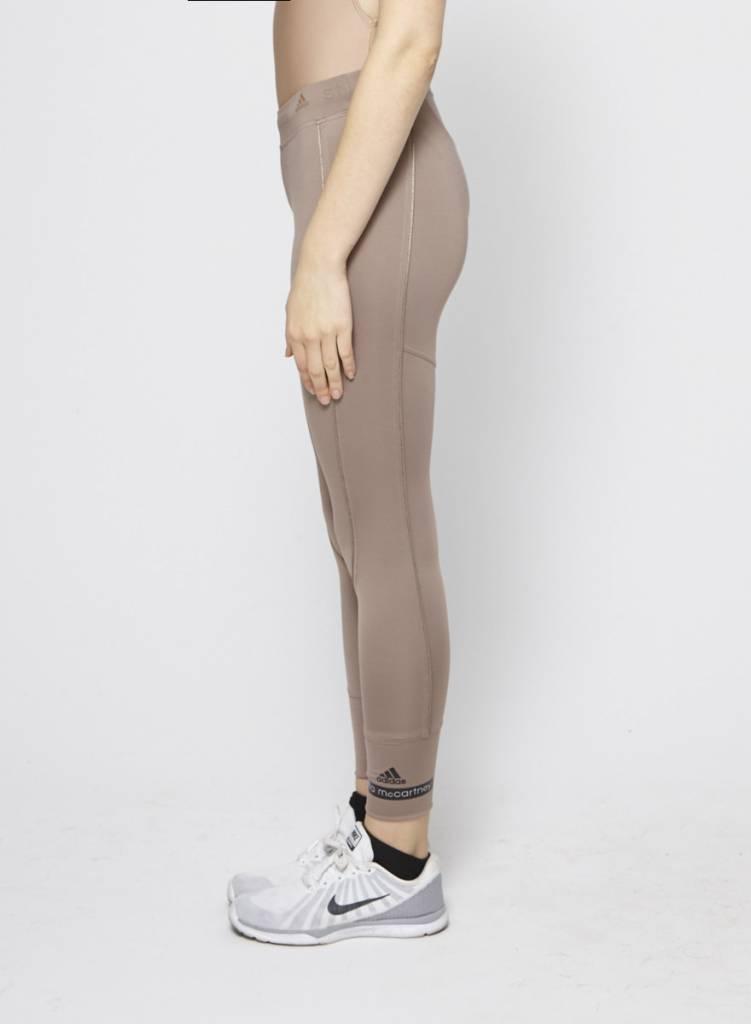 Stella McCartney pour Adidas Leggings écourté vieux mauve