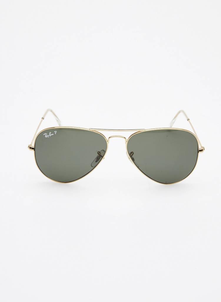 f6135c0e18 Ray-Ban Lunettes de soleil aviateur dorées -