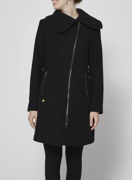 Soia & Kyo BLACK WOOL COAT