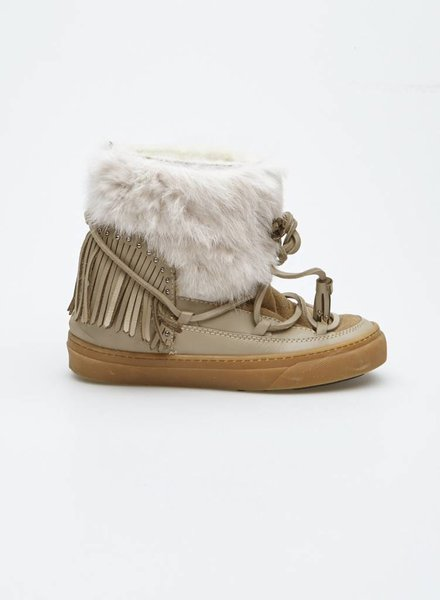 Inuikii FUR AND LEATHER WINTER BOOTS