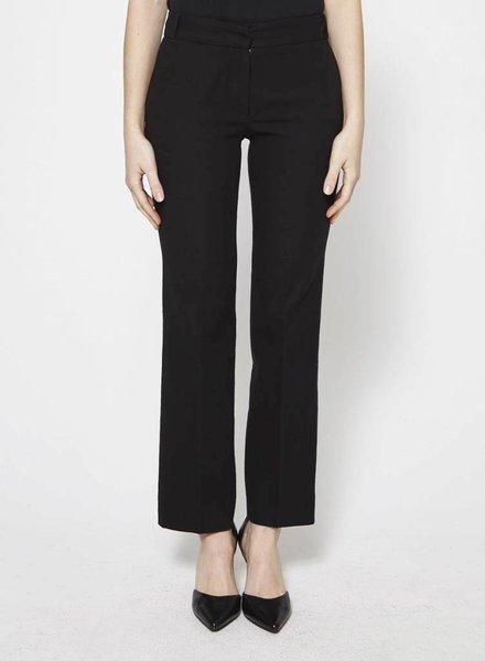Vanessa Bruno STRAIGHT LEGS BLACK PANTS