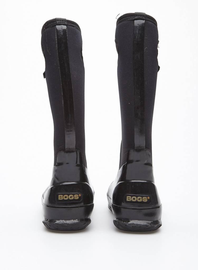 Bogs Bottes d'hiver noires imperméables
