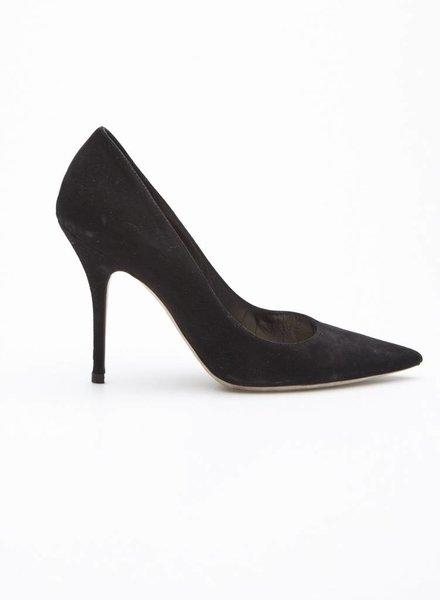 Christian Dior BLACK SUEDE PUMPS