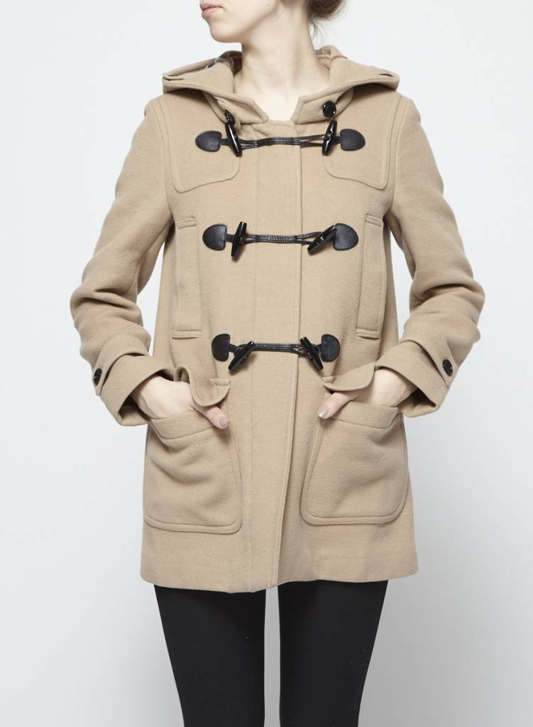 Burberry Brit Manteau beige en laine