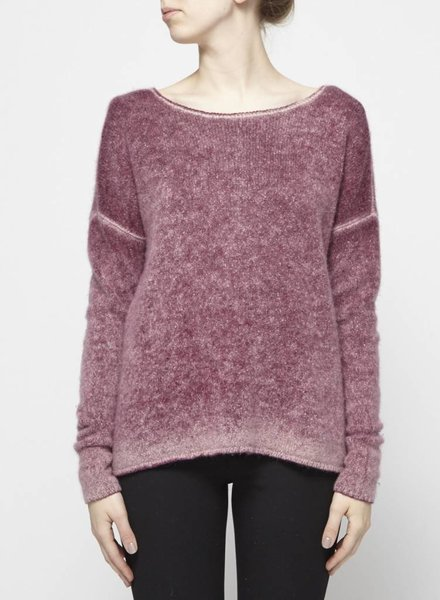 Autumn Cashmere STRAWBERRY CASHMERE SWEATER