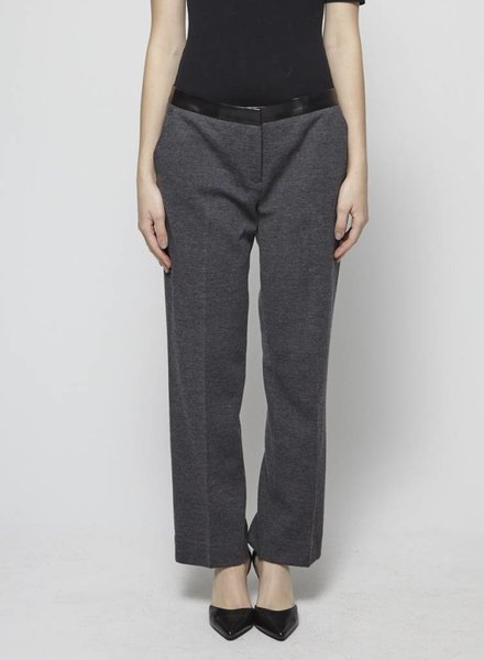Tory Burch WOOL BLEND GREY PANTS