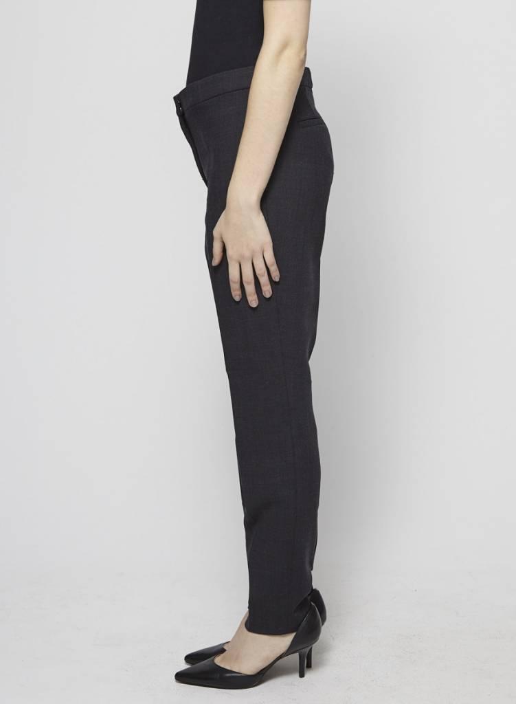Massimo Dutti Pantalon classique gris foncé