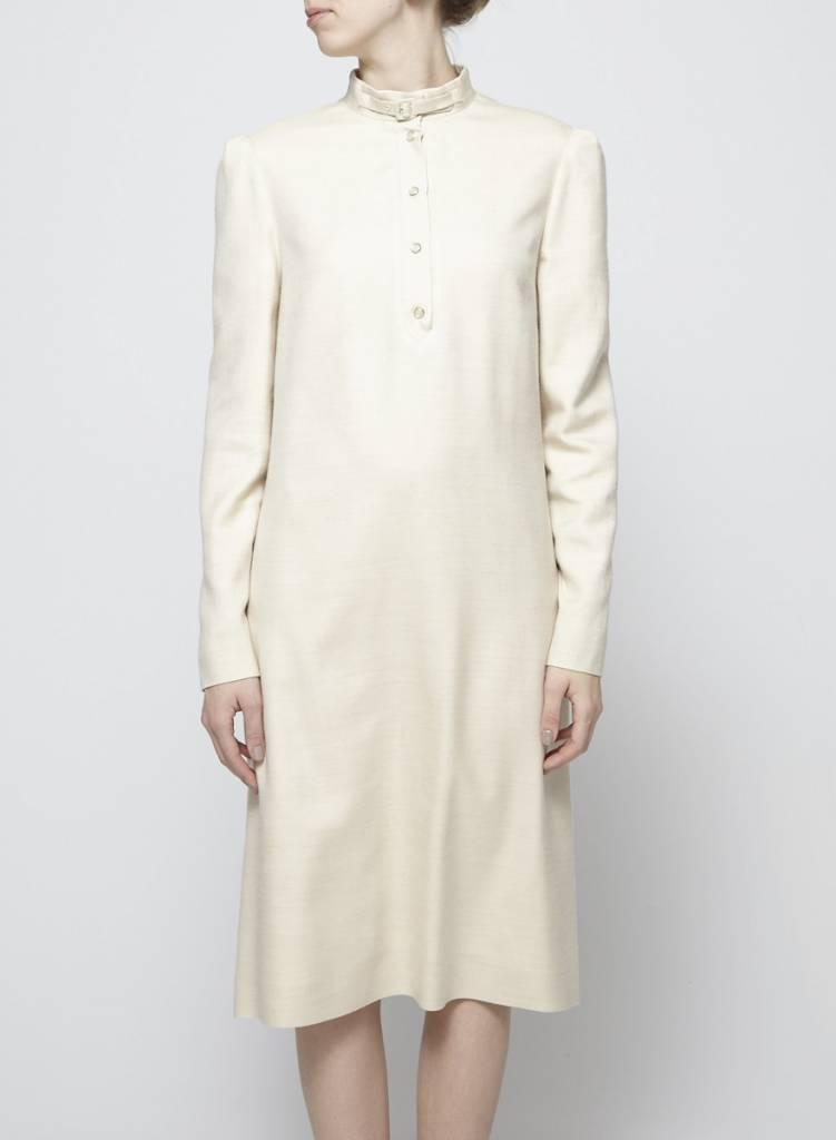 Chloé Tunique beige en soie et cachemire
