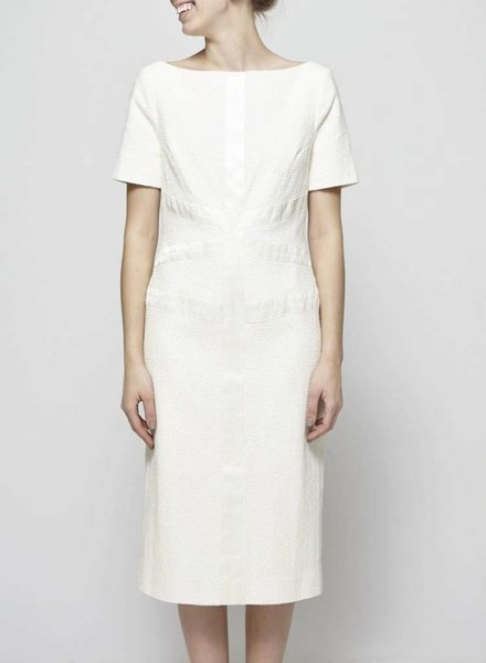 Jason Wu OFF-WHITE STRUCTURED DRESS