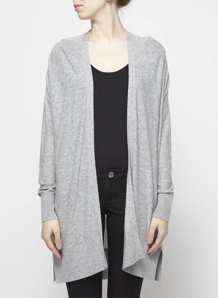DKNY LONG GREY CARDIGAN