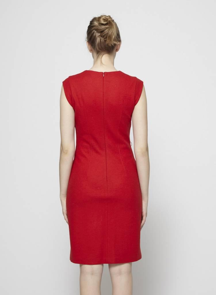 Teenflo Robe rouge en laine