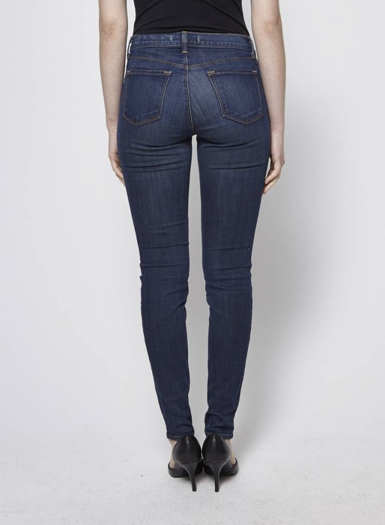 J Brand Dark Blue Skinny Jeans