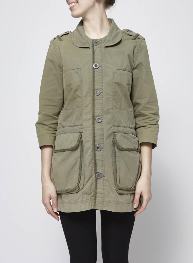 Designers Remix - Charlotte Eskildsen Army style khaki jacket