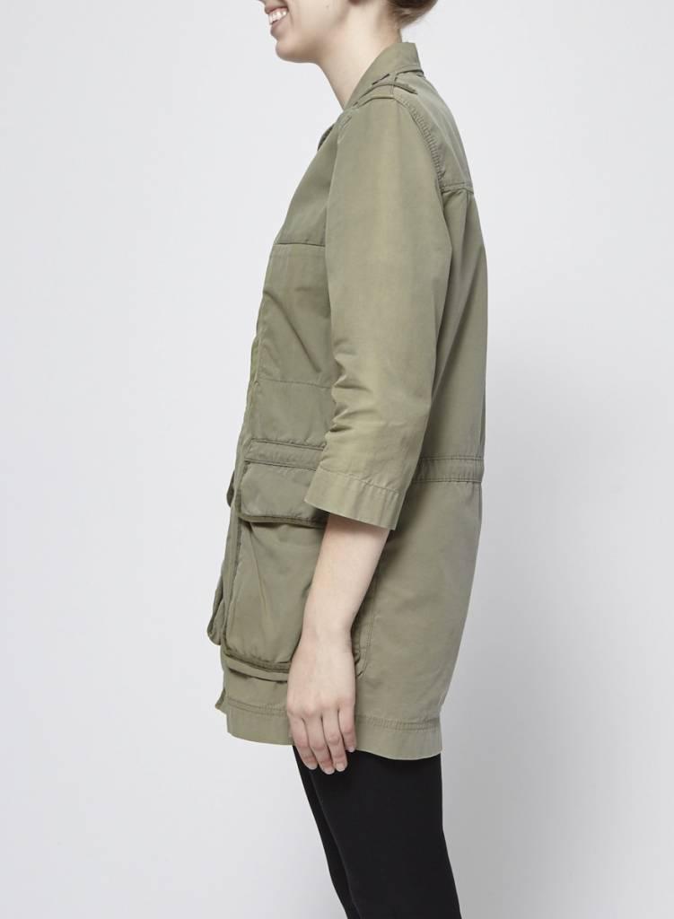 Designers Remix - Charlotte Eskildsen Veste kaki style militaire