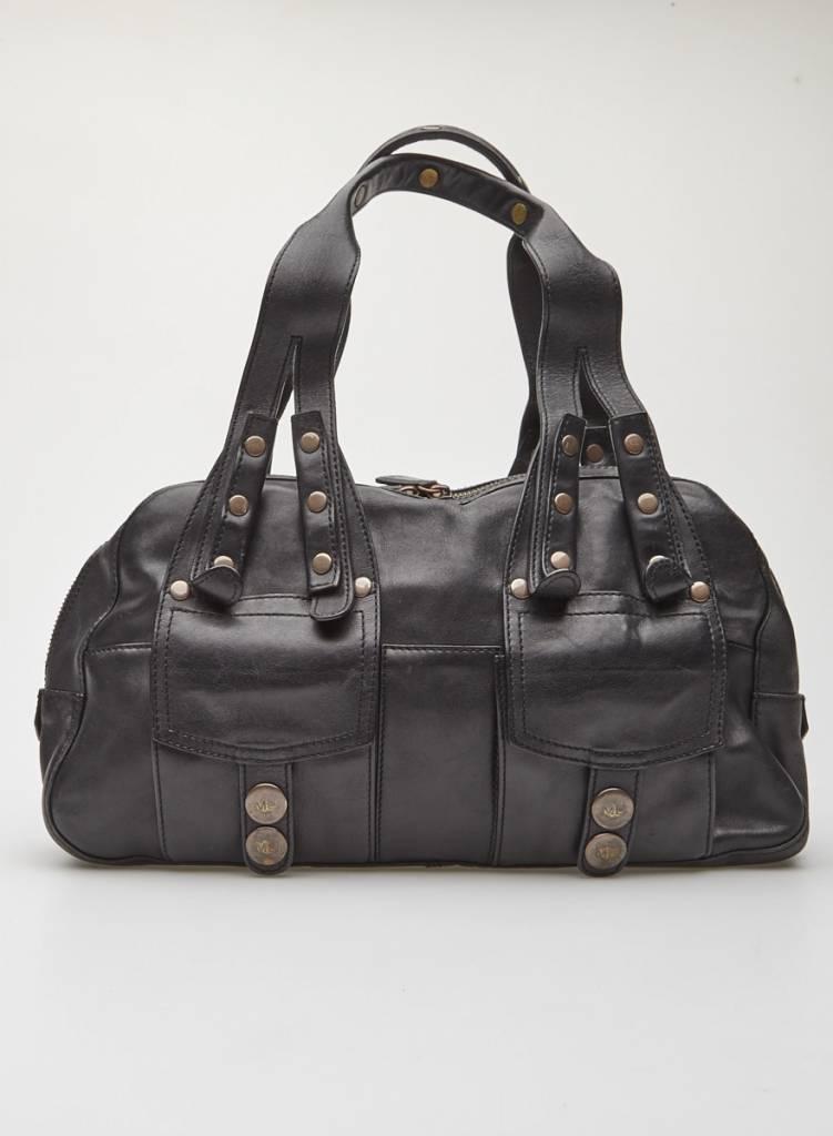 Marc Jacobs Sac à main en cuir noir