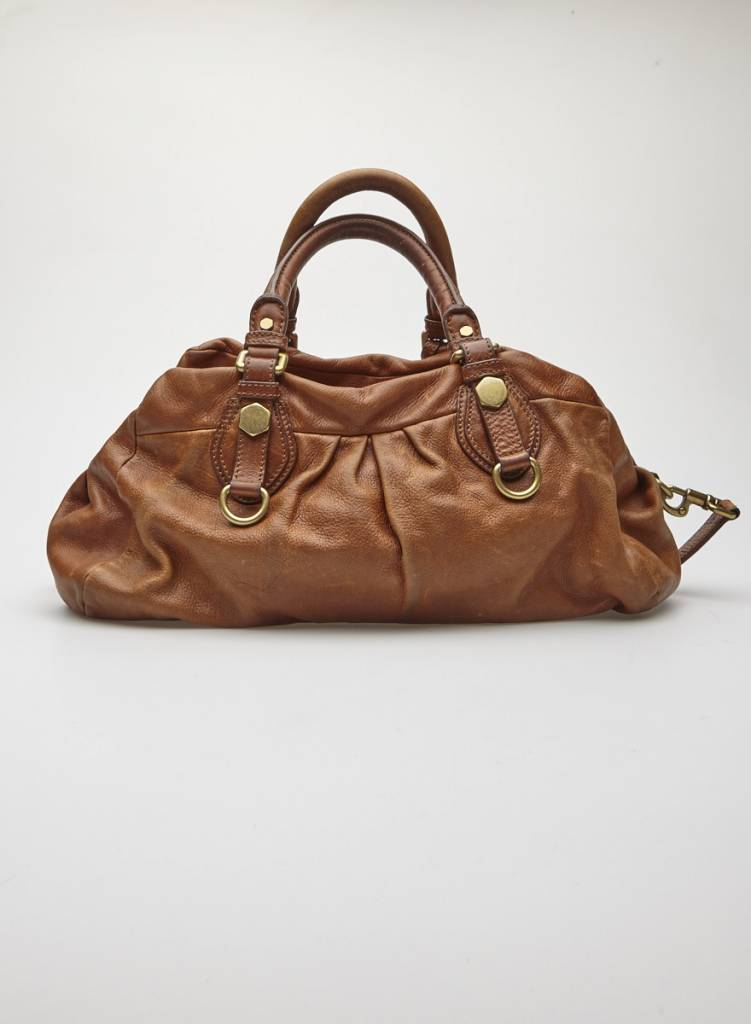 Marc by Marc Jacobs Sac à main en cuir marron