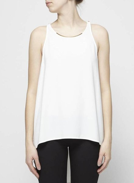Hôtel Particulier WHITE TOP WITH GOLD COLLAR
