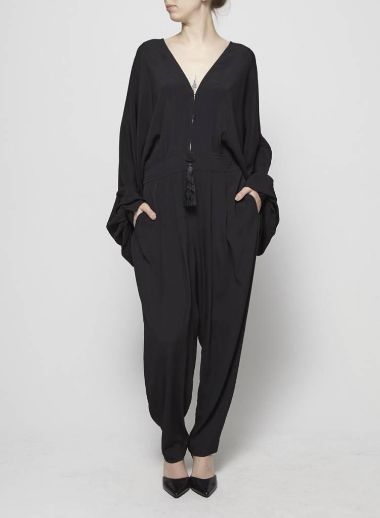 Emilio Pucci combi-pantalon en soie avec pampille