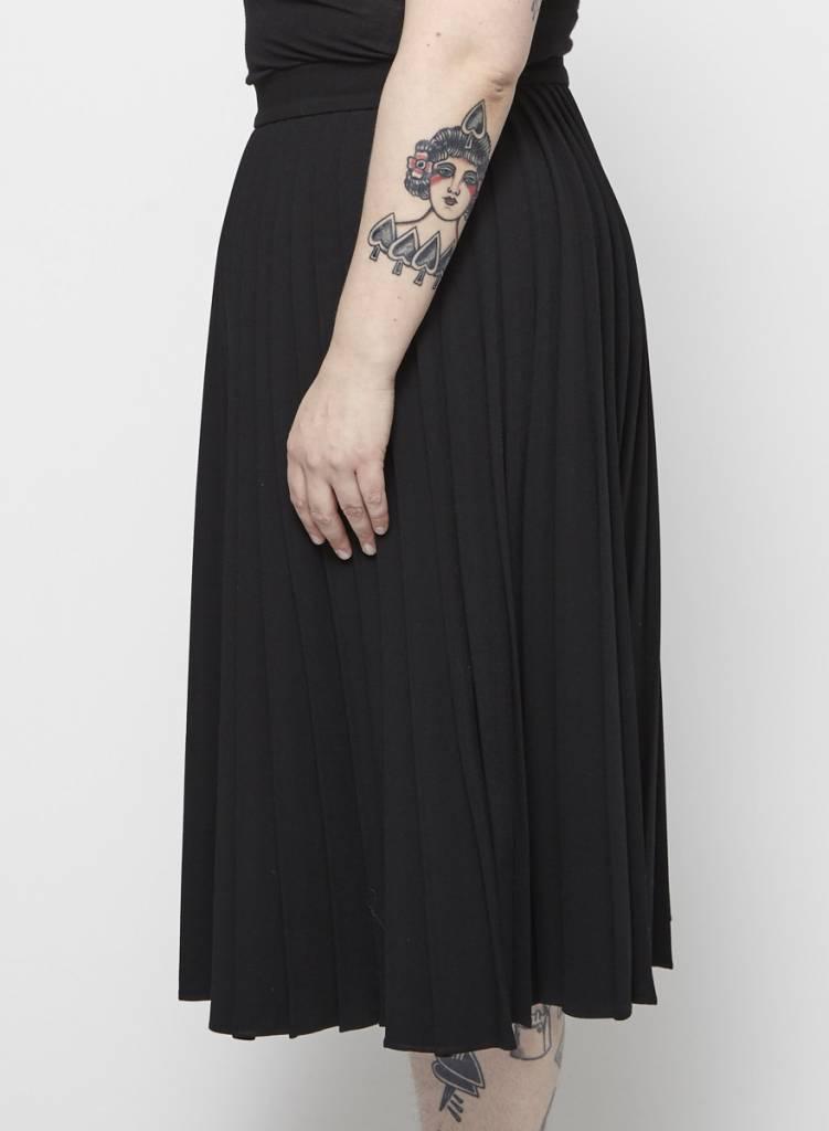 Kate Spade Jupe plissée noire