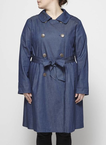 Manon Baptiste CHAMBRAY TRENCH