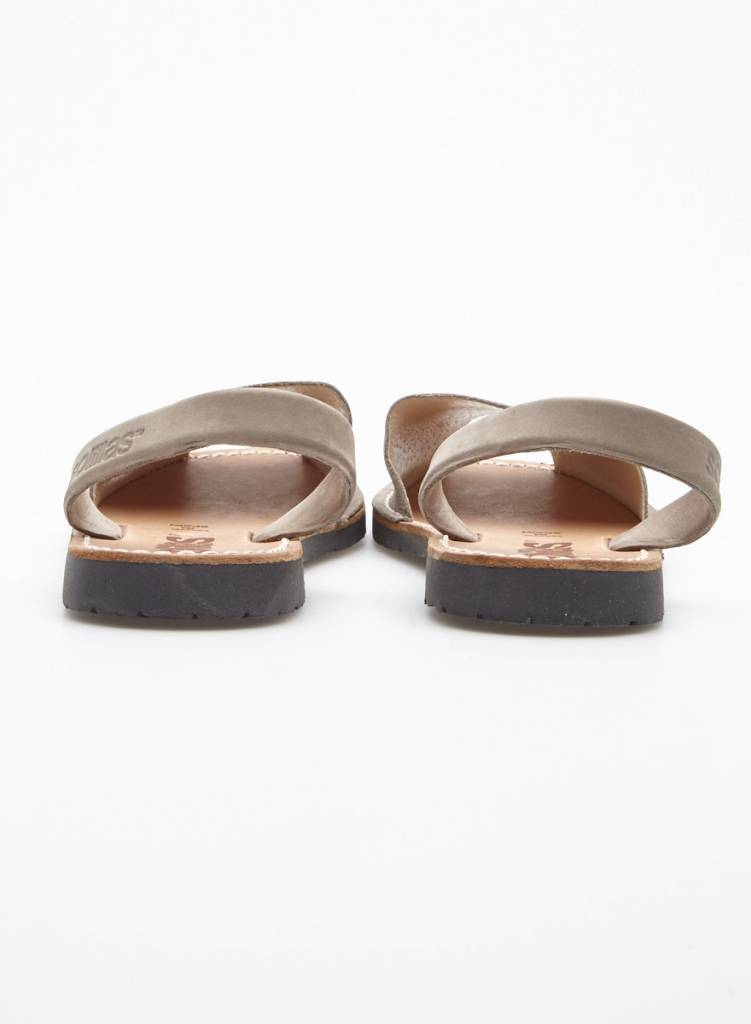 Solillas Suede Taupe Sandals - New