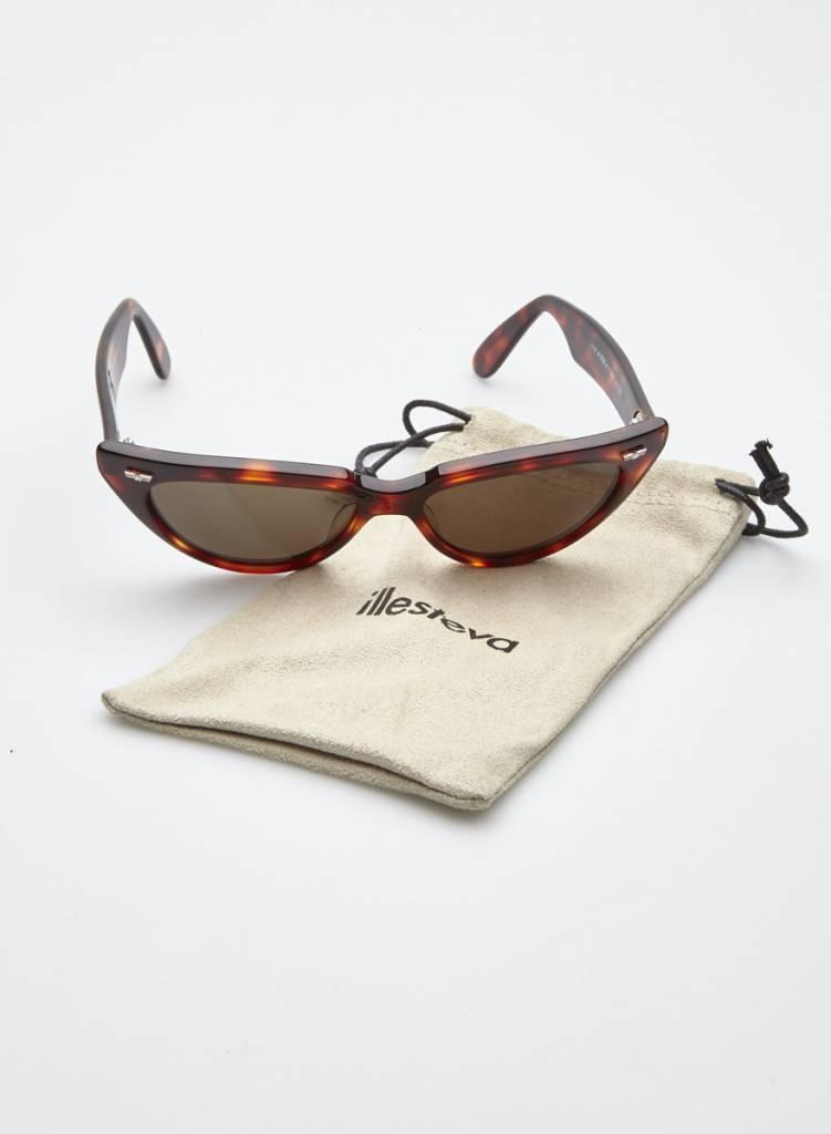 Sting Lunettes de soleil œil-de-chat effet écaille