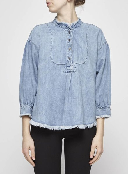 Holding Horses DENIM BLOUSE