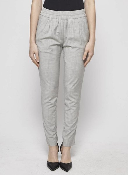 J.Crew GREY PANTS WITH ELASTIC WAISTBAND