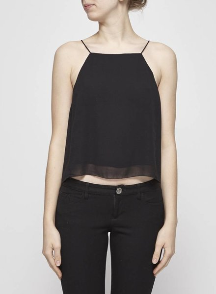 Wilfred BLACK SILK TOP