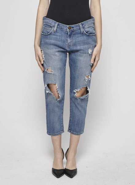 Current Elliott BOYFRIEND DISTRESSED JEANS