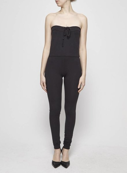 Travis Taddeo BLACK JERSEY JUMPSUIT