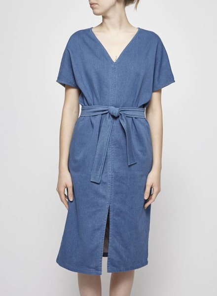 Odeyalo ROBE AMPLE EN CHAMBRAY