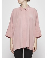 COS CHEMISE ROSE À MANCHES 3/4