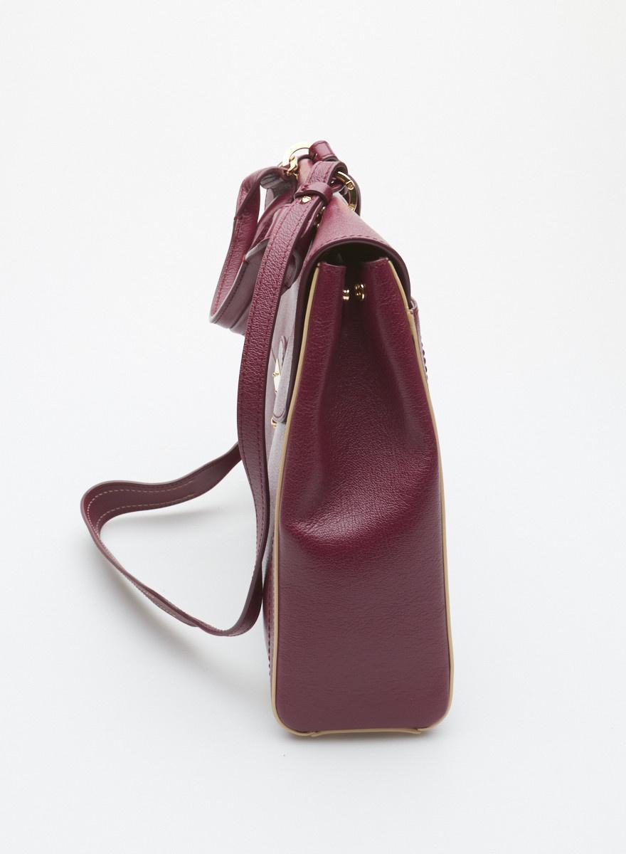 5b3508bda9 ... Marc Jacobs Sac à main byzantium en cuir style écolier - Neuf ...