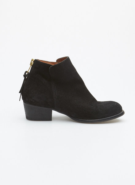 minelli BLACK SUEDE BOOTIES