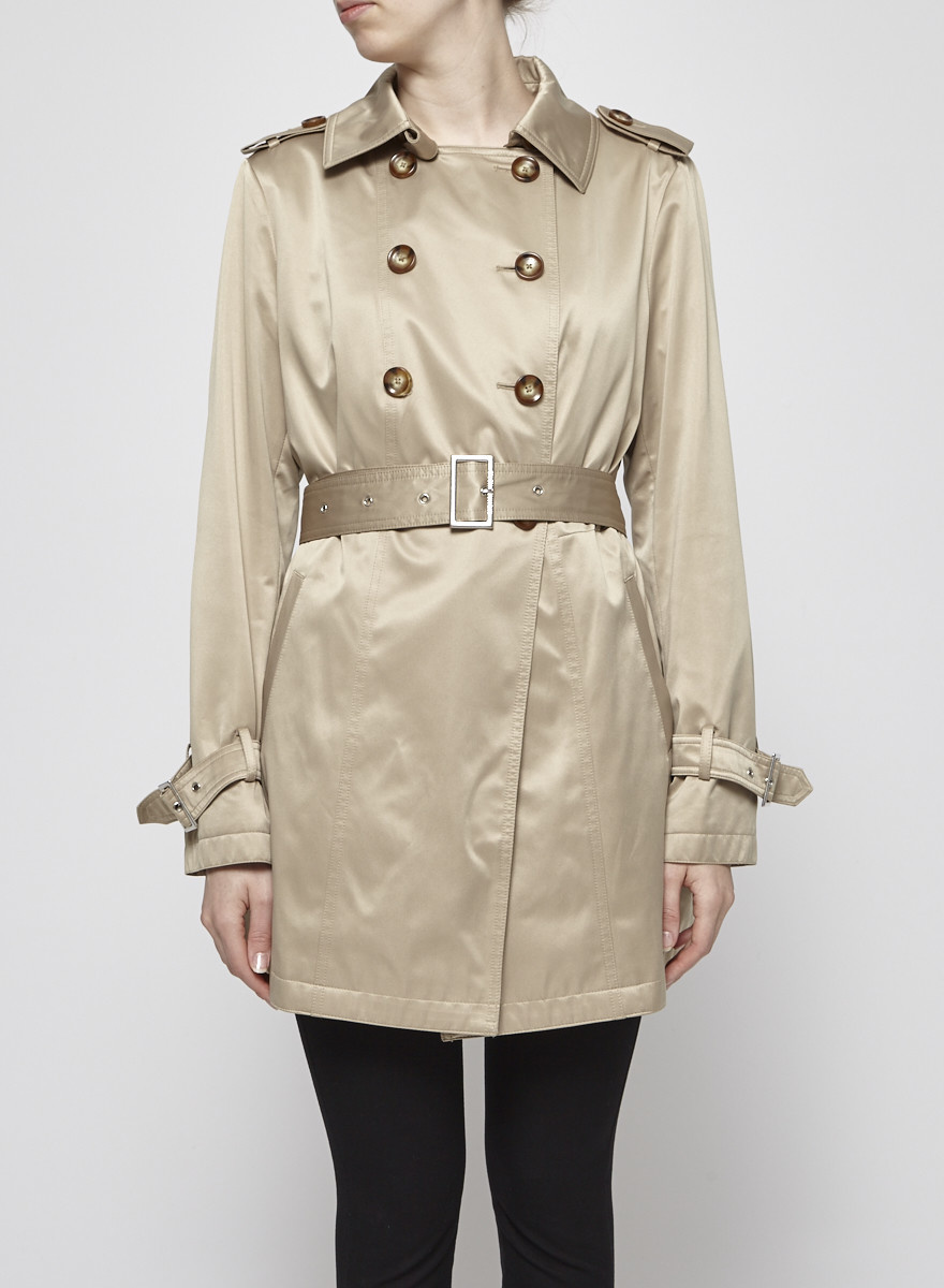 167121f2cf2 BEIGE TRENCH-COAT WITH REMOVABLE LINING - Michael Kors - DEUXIEME ...