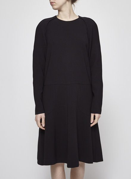 Filippa K SALE (WAS $120) - BLACK LONG SLEEVES DRESS