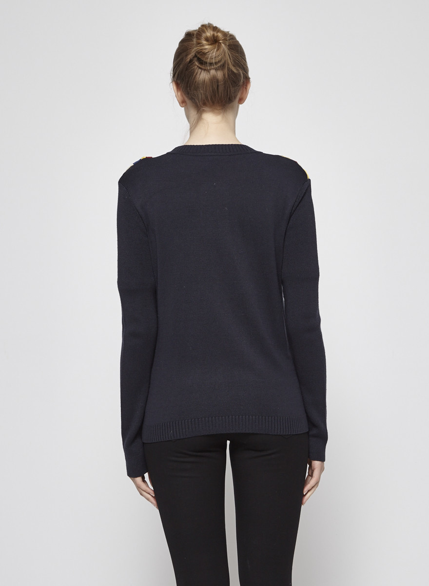 Ports 1961 Woven Silk Sweater