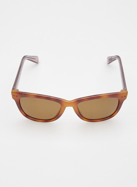 Cole Haan BROWN AND PINK SUNGLASSES